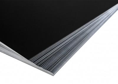 Placas de aluminio para el proceso de colodión húmedo - Wetplatewagon