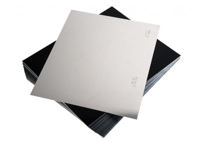 Aluminium plates for wet collodion process - Wetplatewagon