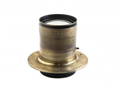 Brass lens flanges - Wetplatewagon