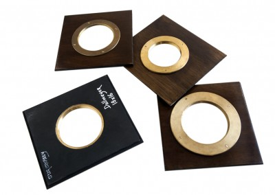 Adapted lens boards for any wooden camera - Wetplatewagon