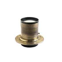 Brass lens flanges