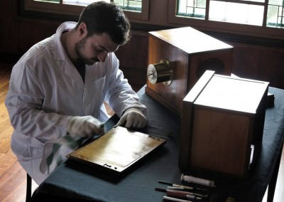 Restauración de la cámara Daguerre-Giroux - Wetplatewagon