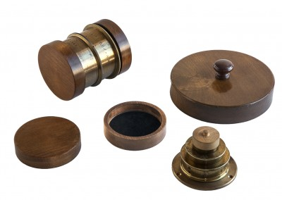 Wooden lens caps to keep your lenses protected - Wetplatewagon
