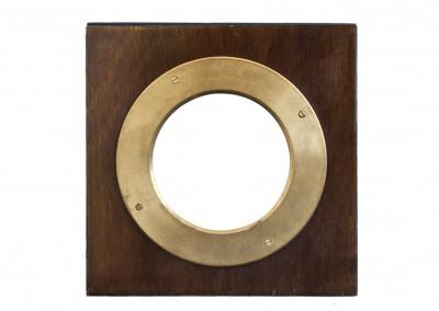 Frontales y aros de latón adaptados para cualquier cámara de madera - Wetplatewagon