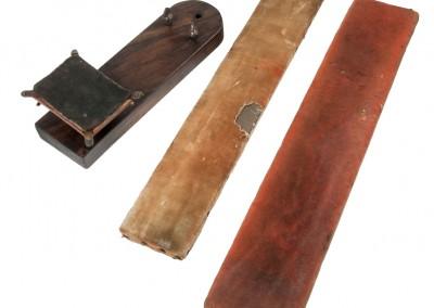 Blanxart laboratory. Tools to polishing daguerreotype plates - Wetplatewagon