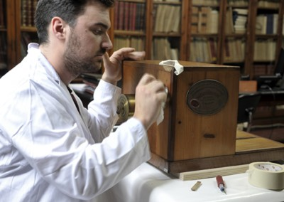 Restoration of Daguerre-Giroux camera - Wetplatewagon