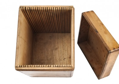 Le Daguerréotype. Whole plates box - Wetplatewagon